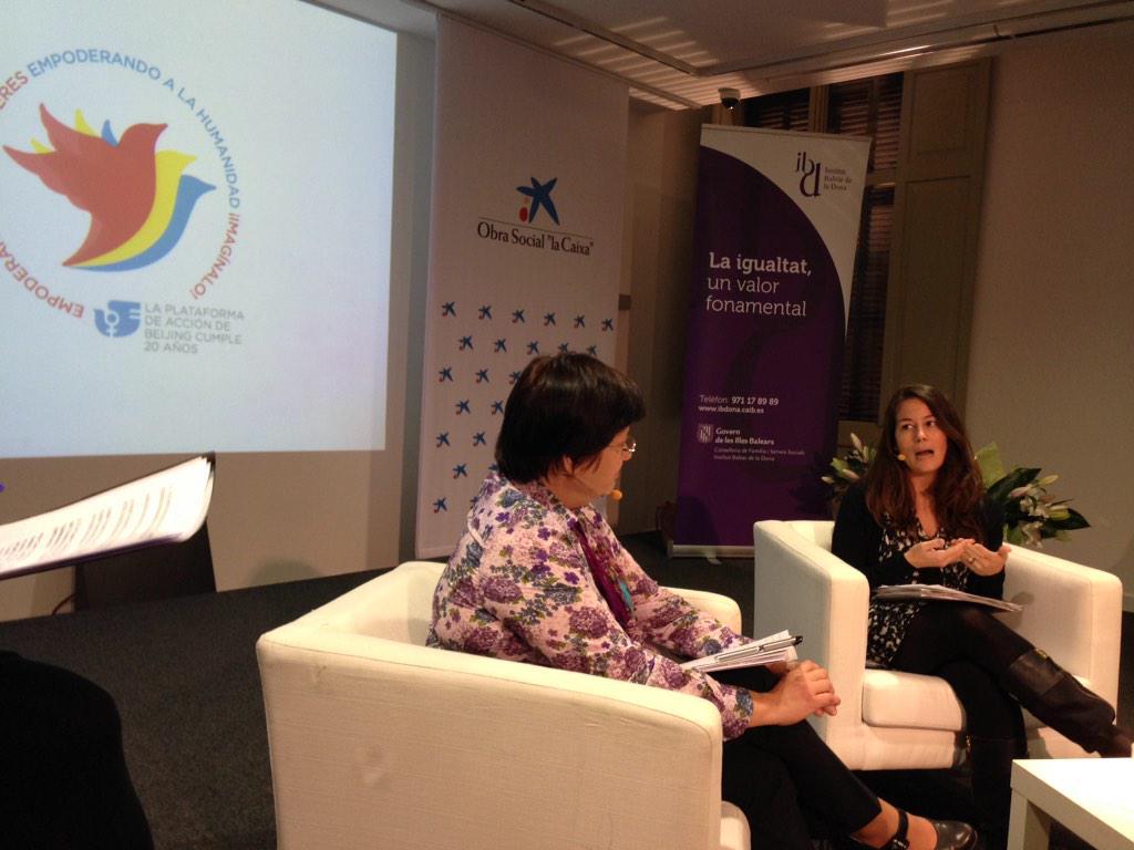Entrevista a Pilar, Directora General