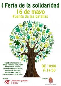 Cartel Feria Solidaridad