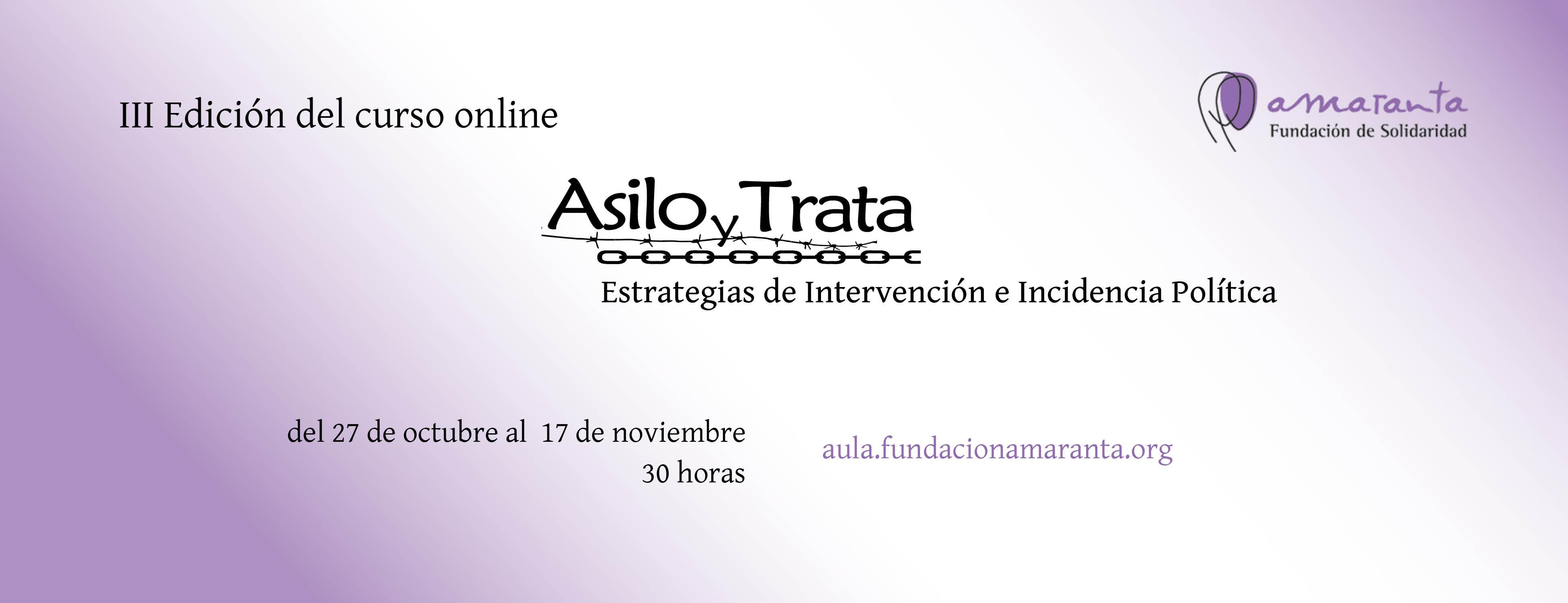 Asilo y Trata_III_Edición