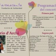 Concierto Bénefico en Valencia