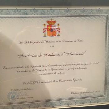 Reconocimiento en Algeciras